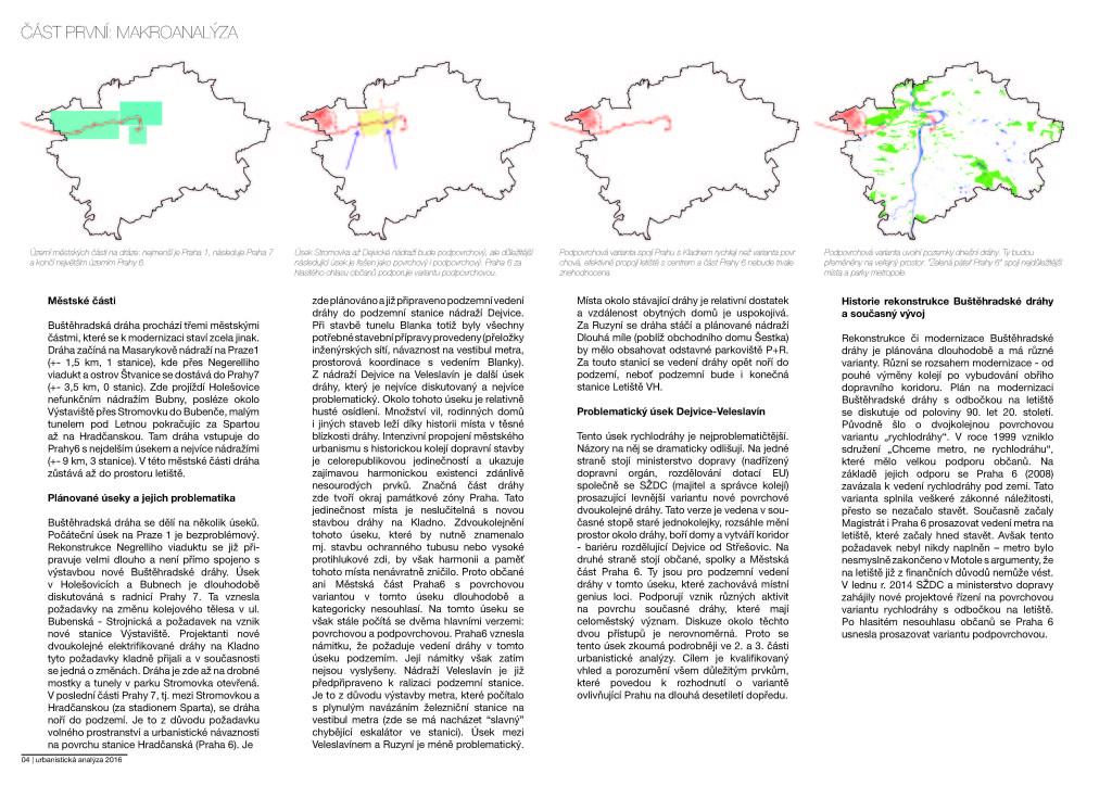 Makro-problémy dráhy, města, letiště a kraje